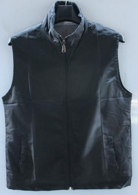 ไซส์ L เสื้อกั๊ก ผ้าโพลี สีดำ เสื้อกั๊กกิจกรรม เสื้อกั๊กจิตอาสา
