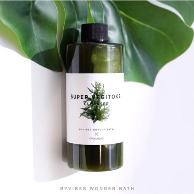 Wonder Bath Super Vegitoks Cleanser Green สูตรผักสีเขียว