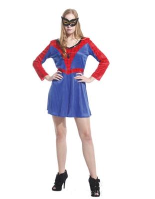 ++พร้อมส่ง++ชุดสไปเดอร์แมนผู้หญิง Spiderwoman Spidergirl สวย เทห์