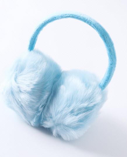 ที่ปิดหู พร้อมส่ง กันหนาวในต่างประเทศ แม้ติดลบ อุ่นสบาย สี ฟ้าอ่อน