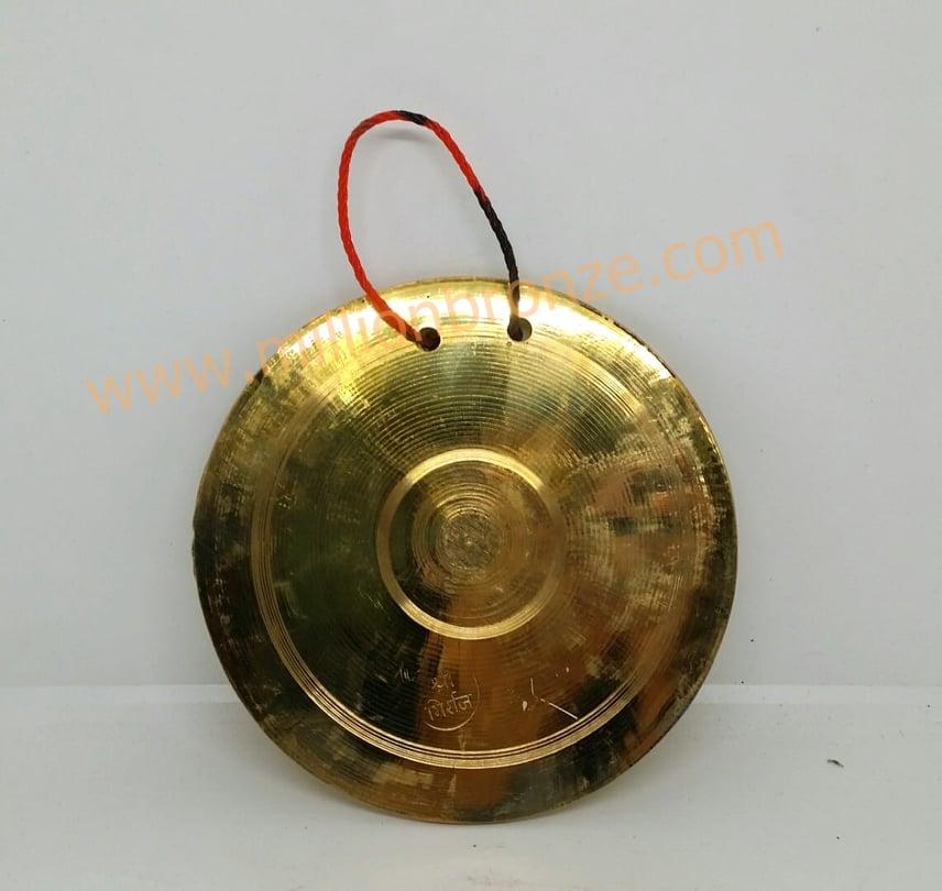 G017 กังสดารอินเดีย (กังสะดาน) Moon-shaped Bell
