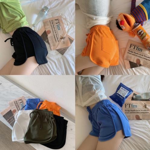 กางเกง ลำลอง ขาสั้น ไซส์: S/M สี: เขียว/ขาว/น้ำเงิน/ดำ/ส้ม