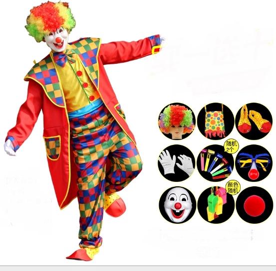 ++พร้อมส่ง++Full set ชุดตัวตลกคณะละครสัตว์ ชุดโบโซ่ ชุดโจ๊กเกอร์ Joker