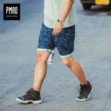 ขนาด:2XL 3XL 4XL 5XL 6XL สี:น้ำเงิน กางเกงคนอ้วน กางเกงผู้ชาย ขนาดใหญ่ กางเกงขาสั้น