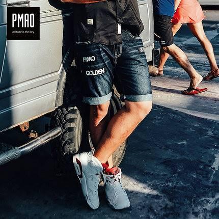ขนาด:2XL 3XL 4XL 5XL 6XL สี:ตามภาพ กางเกงคนอ้วน กางเกงผู้ชาย ขนาดใหญ่ กางเกงยีนส์ ขาสั้น