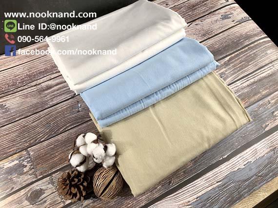 ผ้าคอตต้อนลินิน(ออร์แกนิค) ผ้าคอตตอนลินินจากธรรมชาติแท้100เปอร์เซ็นต์