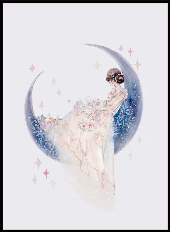 Moon Girl (พิมพ์ลาย)