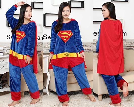 7C89 ชุดมาสคอต ชุดนอน ชุดแฟนซี ซุปเปอร์แมน Mascot Superman Costumes