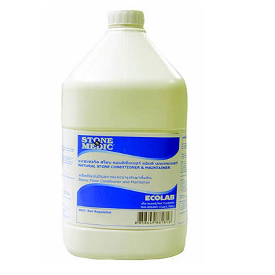 ราคาต่อกล่อง-น้ำยาทำความสะอาดและบำรุงรักษาพื้นหินประจำวัน สโตนเมติก แนชเชอรัล สโตน คอนดิชั่นเนอร์ แอนด์ เมนเทนเนอร์ / 3.8 ลิตร