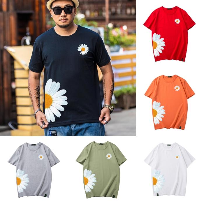 ขนาด:XL 2XL 3XL 4XL 5XL 6XL สี: ขาว ดำ เทา เขียว แดง ส้ม แดง เสื้อคนอ้วน เสื้อผ้าผู้ชาย ขนาดใหญ่ เสื้อยืด แขนสั้น