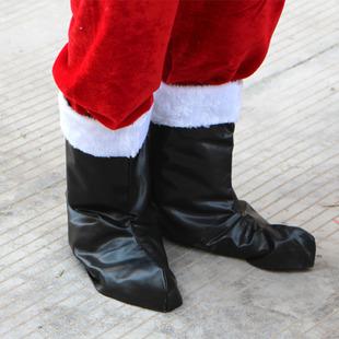 ++พร้อมส่ง++รองเท้าซานตาครอส (ใส่แบบคลุมรองเท้าของท่าน)