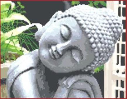Sleeping buddha (ไม่พิมพ์/พิมพ์ลาย)