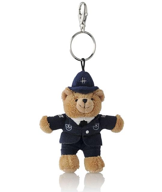 Harrods Keyring รุ่น Policeman Bear Keyring (พร้อมส่ง)