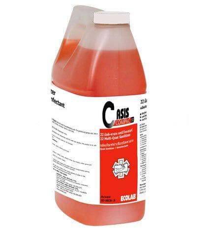 ราคาต่อกล่อง-น้ำยาฆ่าเชื้อชนิดควอท 22 มัลติ-ควอท แซนิไทเซอร์/2 X2 ลิตร