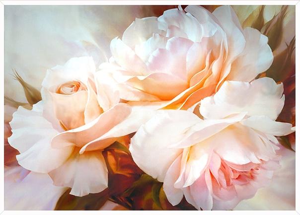 แจกันดอกไม้ ดอกเดซี่ (พิมพ์ลาย)