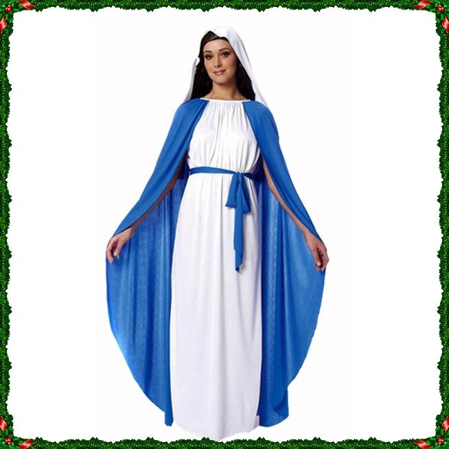 ++พร้อมส่ง+ชุดพระแม่มารี ชุดพระแม่มารีย์ ชุดมารีอา ชุดมาเรีย พระเยซู