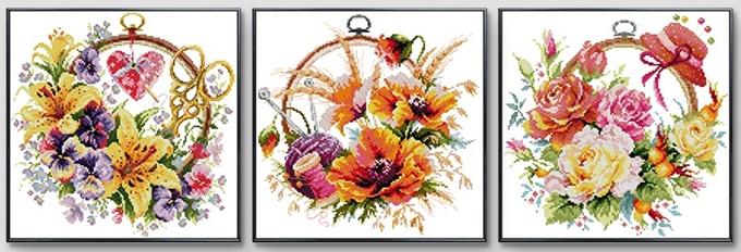 Flower Basket (เดี่ยว/ชุด)(ไม่พิมพ์/พิมพ์ลาย)