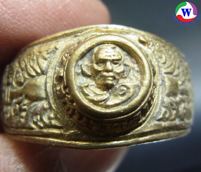แหวนทองเหลือง 10.17 กรัม หลวงพ่อเงิน วัดบางคลาน พิจิตร ไม่ทราบรุ่น เบอร์ 67