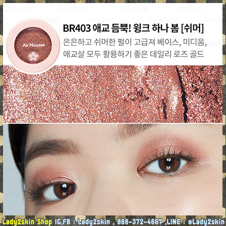 ( # BR403 ) Air Mousse Eyes Blossom Picnic