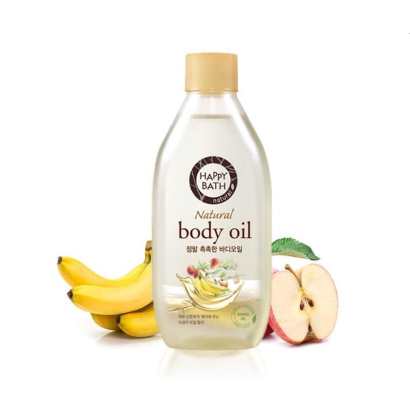 ( Moist ) HAPPY BATH Body Oil