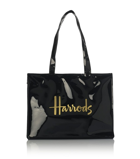 กระเป๋าสะพาย Harrods รุ่น Signature Logo Tote Bag (Black)***พร้อมส่ง