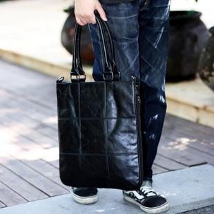 เสื้อผ้าผู้ชายราคาถูก กระเป๋าแฟชั่น กระเป๋าสะพายหนัง มี สีดำ สีหมอก สีน้ำตาล