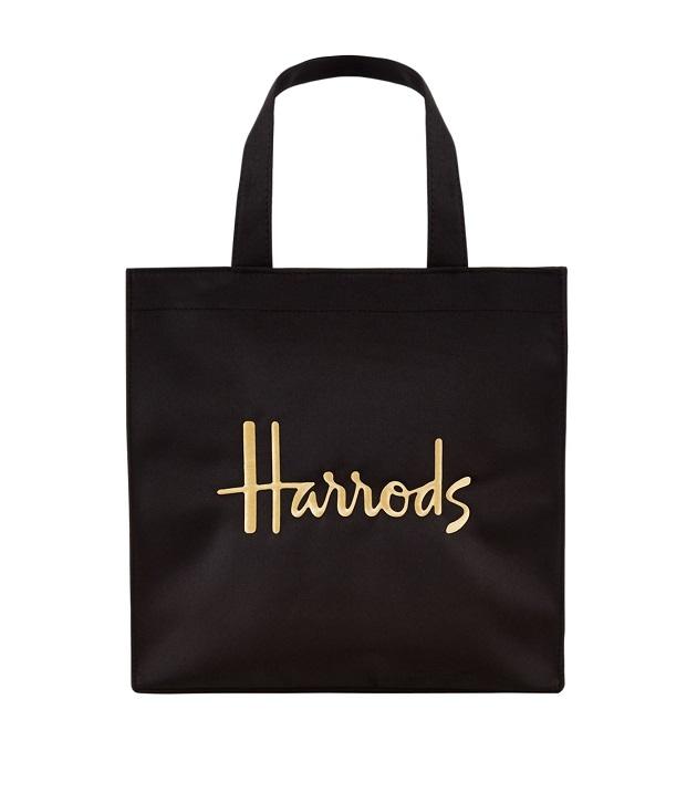 กระเป๋า Harrods รุ่น  Small Logo Shopper Bag (กระดุม)   (พร้อมส่ง)