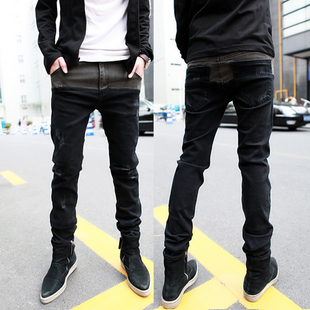 เสื้อผ้าผู้ชายราคาถูก กางเกงยีนส์เท่ๆ มี สีตามรูป มีไซร์ 28-34