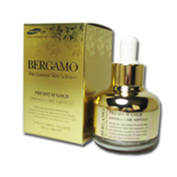 Bergamo The Luxury Skin Science Premium Gold Wrinkle Care Ampoule สติ๊กเกอร์ Karmarts