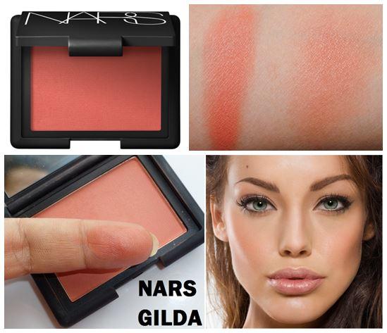 NARS Blush สี Gilda 4.8 g. (ส้มคอรัล ส้มอมชมพูนิดๆ เนื้อแมท) บลัชออนเนื้อเนียนละเอียดดุจใยไหม เนรมิตพวงแก้มสวยระเรื่อเปล่งปลั่ง ดูสุขภาพดี ด้วยเม็ดสีที่คมชัด แม้ปัดเพียงบางเบาก็ให้เนื้อสีที่ฟุ้งสวยเป็นธรรมชาติ