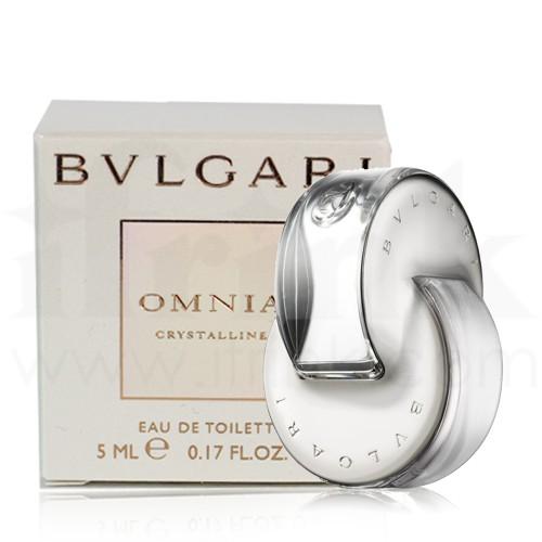 **พร้อมส่ง**BVLGARI Omnia Crystalline 5 ml. น้ำหอมกลิ่นหอมละมุนจากธรรมชาติอย่าง ดอกบัว ไผ่ และไม้ยืนต้น เหมาะกับสาวๆที่ทันสมัยผู้หลงใหลในกลิ่นหอมแบบนุ่มๆ ขวดน้ำหอมที่ได้รับแรงบันดาลมาจากคริสตัล ใส บ่งบอกถึง ความบอบบาง สง่างาม รักสงบ แต่เต็มไป ด้วยพลังของห