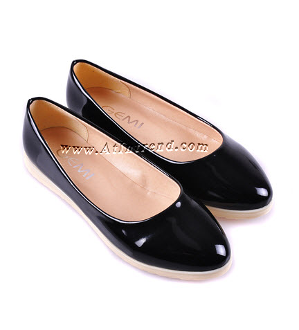 รองเท้า รองเท้าผู้หญิง รองเท้าส้นเตี้ย รองเท้าแฟชั่นผู้หญิง รองเท้าทำงาน รองเท้าเดินเล่น สีดำ สีเนื้อ สีส้ม รองเท้าหญิงน่ารักๆ ไซส์ 35 36 37 38 39 แฟชั่นหญิงเกาหลี