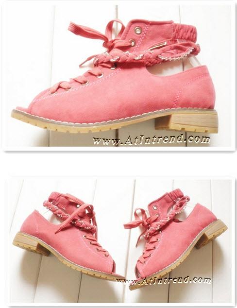 รองเท้า รองเท้าทำงาน รองเท้าผู้หญิง รองเท้าหุ้มส้น มี 2 สี สีชมพู สีโอ๊ค ไซส์ 36 37 38 39 รองเท้าแฟชั่นผู้หญิง รองเท้าหญิงน่ารักๆ แฟชั่นหญิงเกาหลี