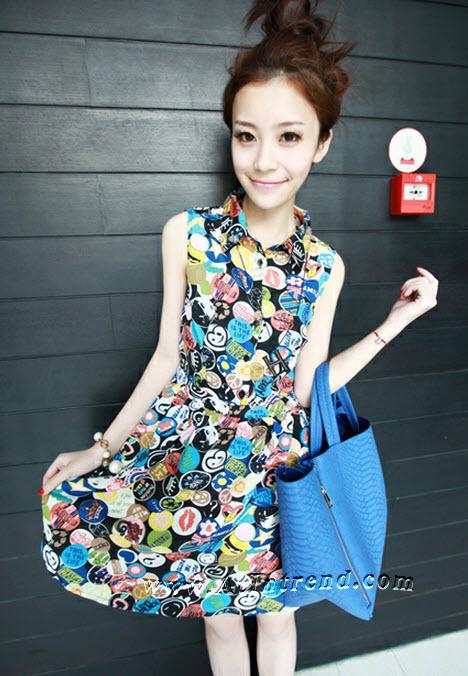 เดรสเกาหลี ชุดเดรส ชุดกระโปรง เดรสลำลอง เดรสน่ารัก Dress ผู้หญิง แฟชั่นเกาหลีหญิง เดรสซีฟอง ชุดเดรสน่ารักๆ เดรสทำงาน