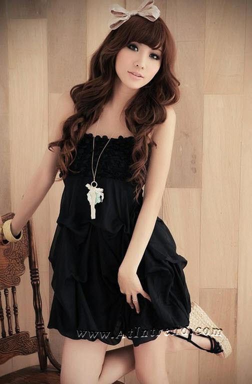 เดรสเกาหลี มี2สี ชุดเดรส ชุดกระโปรง เดรสลำลอง เดรสน่ารัก Dress ผู้หญิง แฟชั่นเกาหลีหญิง เดรสซีฟอง ชุดเดรสน่ารักๆ เดรสทำงาน