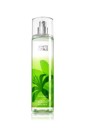 **พร้อมส่ง**Bath & Body Works White Citrus Fine Fragrance Mist 236 ml. สเปร์ยน้ำหอมที่ให้กลิ่นติดกายตลอดวัน กลิ่นนี้จะมีความหอมสดชื่นซีตัสมากๆ คล้ายกลิ่นของไอศรีมรสมะนาว ใครที่เบื่อกลิ่นหอมของดอกไม้ลองเปลี่ยนมาใช้กลิ่นนี้ดูรับรองไม่ผิดหวังค่ะ