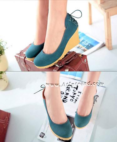 รองเท้า รองเท้าผู้หญิง รองเท้าหุ้มส้น มี 3 สี สีชมพู สีฟ้า สีครีม ไซส์ 34 35 36 37 38 39 รองเท้าแฟชั่นผู้หญิง รองเท้าหญิงน่ารักๆ แฟชั่นหญิงเกาหลี