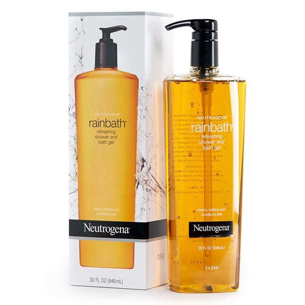Neutrogena Rainbath Refreshing Shower and Bath Gel 32 fl.oz (946 ml.) นูโทรจีน่า เรนบาร์ธ เจลอาบน้ำ ที่สามารถทำความสะอาดได้อย่างล้ำลึก โดยปราศจากสิ่งตกค้าง ผิวของคุณจะเกลี้ยงเกลา สะอาดหมดจด เนียนนุ่ม และช่วยเผยผิวใหม่ที่กระจ่างใสอย่างแท้จริงค