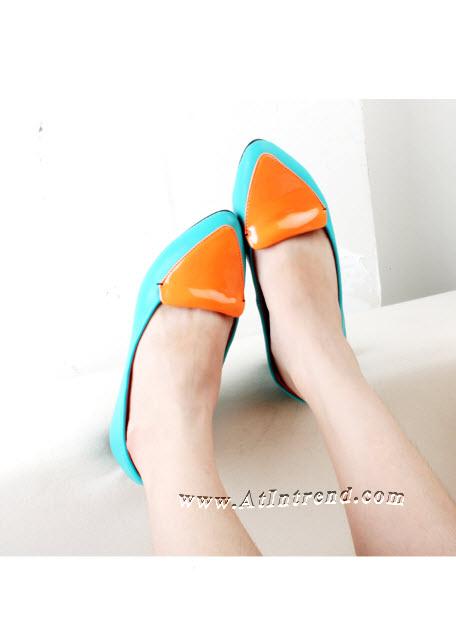 รองเท้า รองเท้าผู้หญิง รองเท้าส้นเตี้ย รองเท้าหุ้มส้น รองเท้าแฟชั่นผู้หญิง รองเท้าหญิงน่ารักๆ ไซส์ 35 36 37 38 39 แฟชั่นหญิงเกาหลี