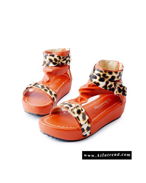 รองเท้า รองเท้าผู้หญิง รองเท้าแฟชั่นผู้หญิง รองเท้าแตะ รองเท้าหุ้มส้น สีส้ม สีน้ำตาล รองเท้าหญิงน่ารักๆ ไซส์ 35 36 37 38 39 แฟชั่นหญิงเกาหลี
