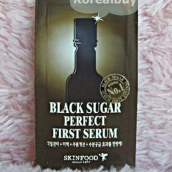 (พร้อมส่่ง) Skinfood Black Sugar Perfect First Serum
