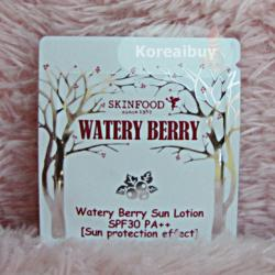 (พร้อมส่่ง) Skinfood Watery Berry Sun Lotion SPF30 PA++