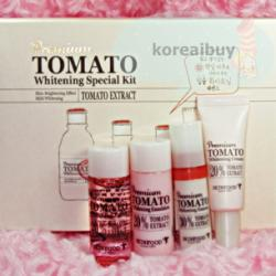 (พร้อมส่่ง) Skinfood Premium Tomato Whitening Special Set (4 items)