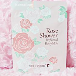 (พร้อมส่่ง) Skinfood Rose Shower Perfume Body Milk
