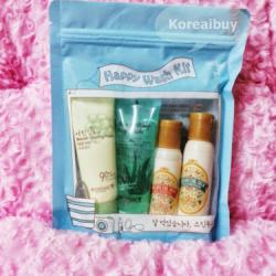 (พร้อมส่่ง) Skinfood Happy wash kit  set 4 ea