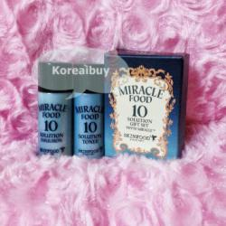 (พร้อมส่่ง) Skinfood Miracle food 10 solution gift set phyto miracle toner+emulsion