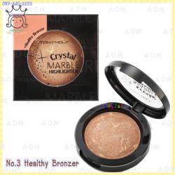 ( 3 Bronzer )Crystal Marble Highlighter