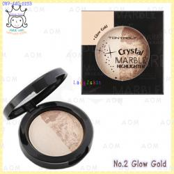 ( 2 Gold )Crystal Marble Highlighter