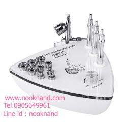 เครื่องกรอหัวเพชร 2 in 1 Diamond Microdermabrasion Dermabrasion Peeling Oxygen Water Spray Jet Machine