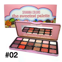 SIVANNA COLORS The Sweetest Palette No.02